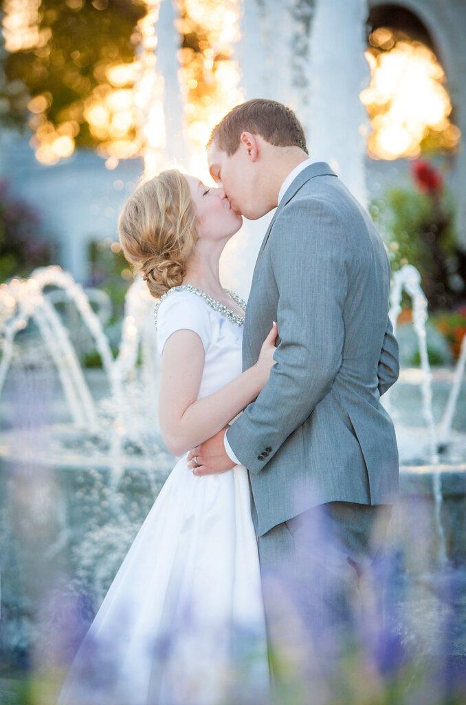 Sacramento Temple Wedding