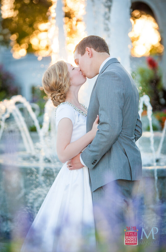 Sacramento Temple Wedding