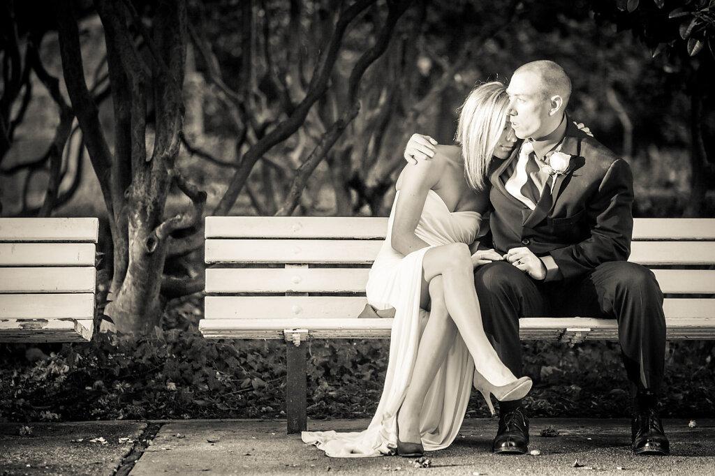 Sacramento Rose Garden Wedding